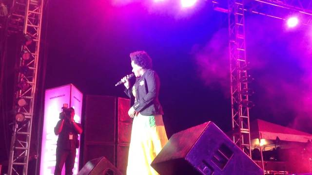 Etana Performance at Rebel Salute 2013