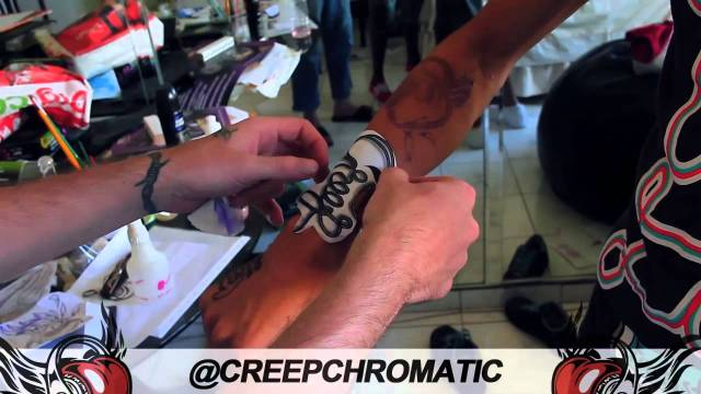 "Chromatic x Fast Life Vol 1 ""Tats On My Arm"""