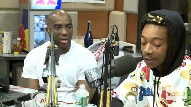 Wiz Khalifa Interview With The Breakfast Club – Power 105.1 (April 2013)