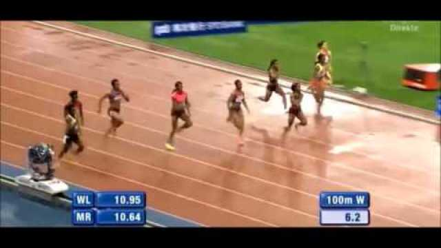 Shelly-Ann Fraser-Pryce Wins in 10.93 Over 100m Shanghai Grand Prix