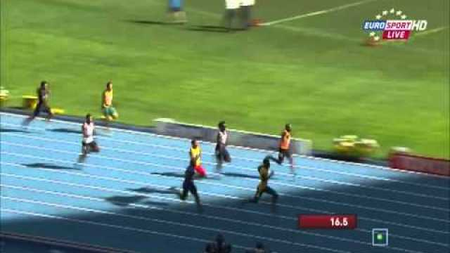 Anaso Jobodwana (RSA) 20.17Q wins heat 2 men's 200m IAAF World Champs 2013