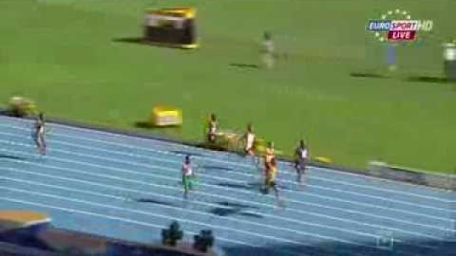 Warren Weir (JAM) 20.34Q wins heat 3 men's 200m IAAF World Champs 2013