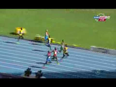 Edward(PAN) 20.45Q Ashmeade(JAM) 20.54Q heat 4 200m IAAF World Champs 2013