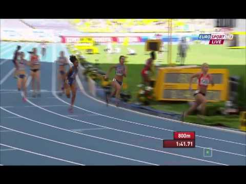 USA 3:25.18Q wins heat 1 women's 4x400m relay IAAF World Champs 2013
