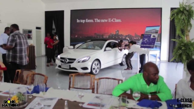 Skunk Nation At The 2014 Mercedes-Benz E Class Media Launch