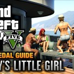 GTA 5 : Mission #7 – Daddy's Little Girl [100% Gold Medal Walkthrough]