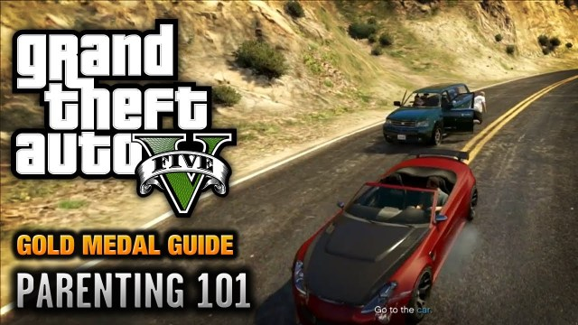 GTA 5 – Mission #72 – Parenting 101 (Optional Mission) [100% Gold Medal Walkthrough]