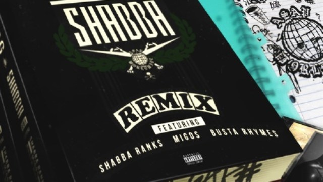 (Audio) A$AP Ferg – Shabba Remix ft. Shabba Ranks, Busta Rhymes, & Migos
