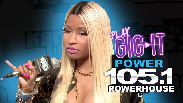 Nicki Minaj Interview at The Breakfast Club Power 105.1
