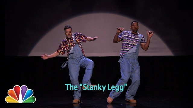 Jimmy Fallon & Will Smith Perform The 'Evolution of Hip-Hop Dancing'