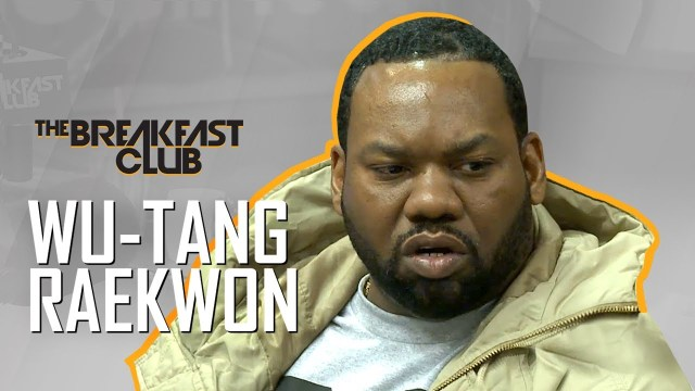 Raekwon Interview at The Breakfast Club Power 105.1