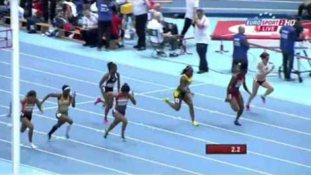 Women's 60m Heat 4 IAAF World Indoor Champs Sopot 2014