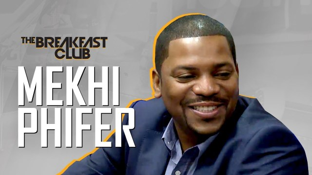 Mekhi Phifer Interview at The Breakfast Club Power 105.1