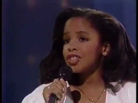"Aaliyah ""My Funny Valentine"" On Star Search 1989"