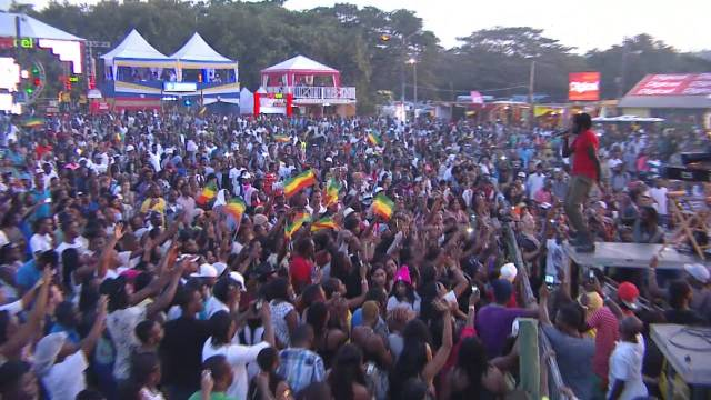 Reggae Sumfest 2014 Dancehall Night pt2