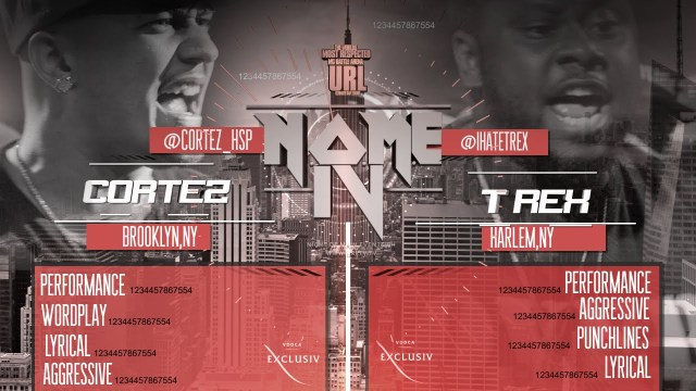 Smack/URL Rap Battle: Cortez Vs. T Rex [Video]