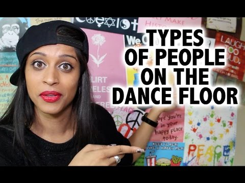 Superwoman: Types of People on the Dance Floor