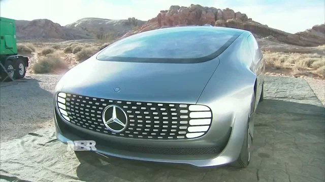 Mercedes-Benz F015 Driverless Car