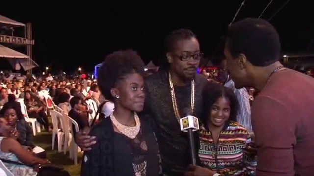 Beenie Man And Daughters At Jazz & Blues 2015