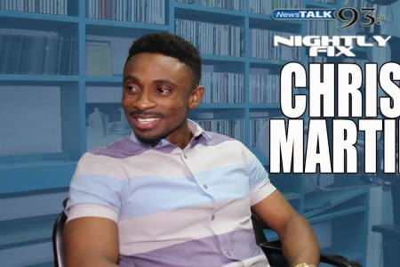 Chris Martin talks Usain Bolt friendship, being good w/ Ce'Cile + 10 years in music on @NightlyFix