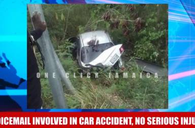 Dancehall Duo Voicemail Involved in car accident