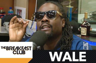 "Wale Talks Making Up With Meek Mill, New Single ""PYT"" & More"
