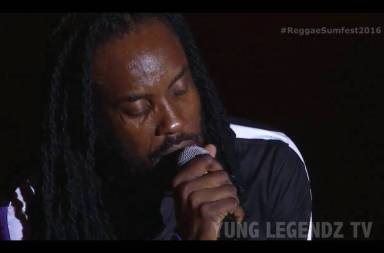 Nesbeth Tribute To His Wife at Reggae Sumfest 2016