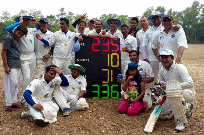 Sasikumar's explosive hundred helps Jaguar CC beat Challengers CC by 100 runs