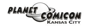 Jacob's Travel: Planet Comicon 2012