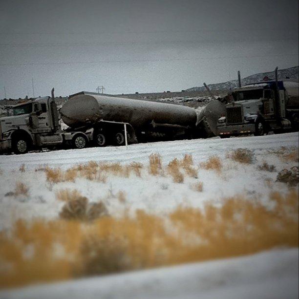 Cause of freeway closure...