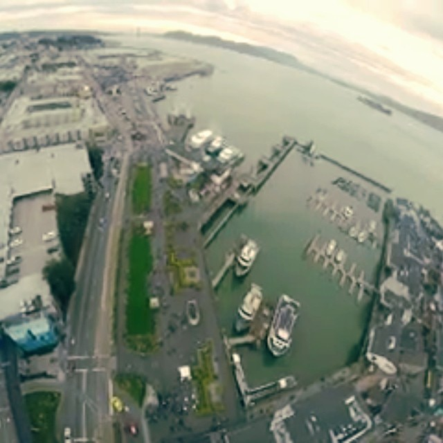Pier 39 from above...