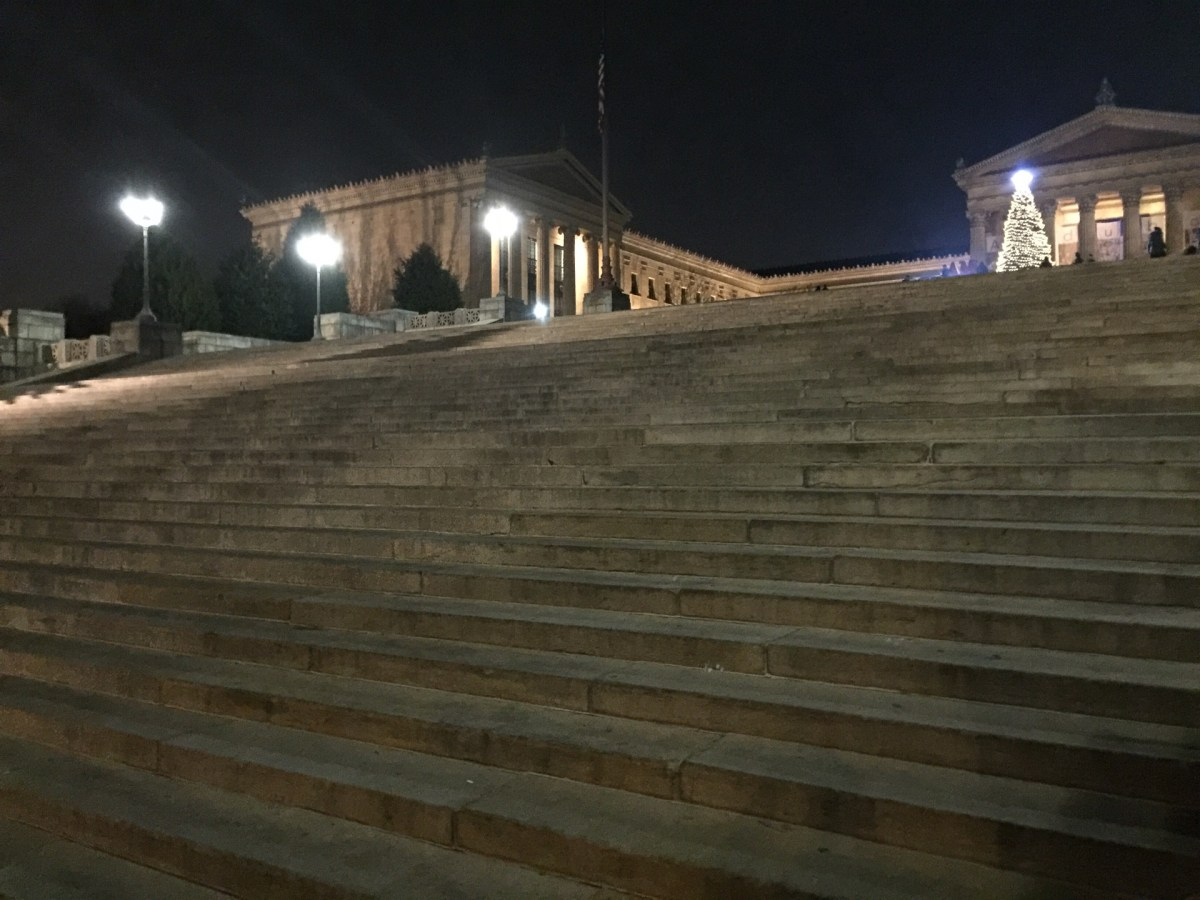 Checked in at Art Museum Steps