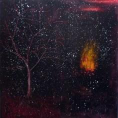 dmýcení, akryl na plátně / acrylic on canvas, 190x200 cm, 2012
