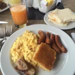 Desayuno en Alma de casaandina  igersperu Trujillo