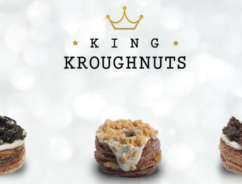 King Kroughnuts delivery donuts con croisants
