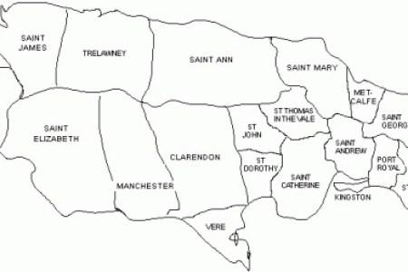 map of jamaica 18411