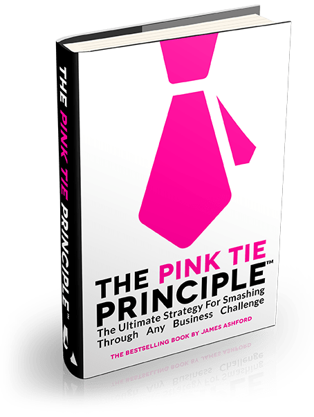 The Pink Tie Principle Cover