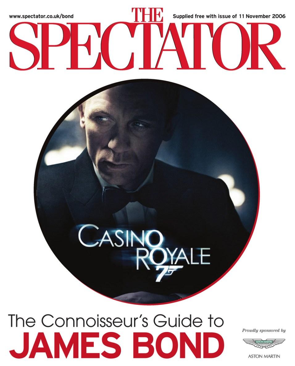Première édition, supplément (The Connoisseur's Guide to James Bond) du numéro du 11 novembre 2006 du magazine The Spectator
