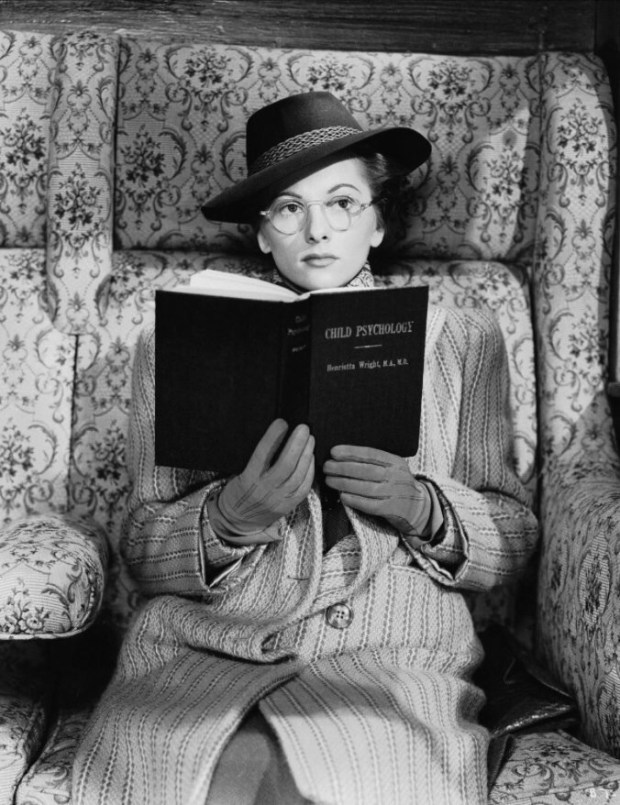 Joan Fontaine in Hitchcock's Suspicion. @jhpcine suggested this one.