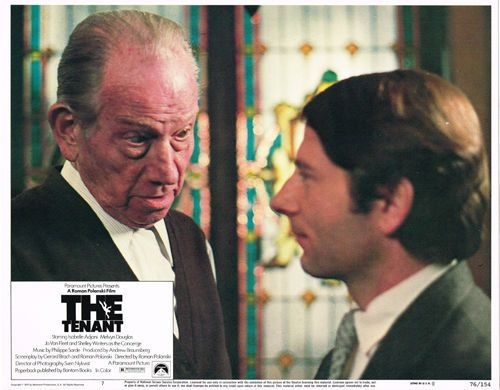 Melvyn Douglas and Roman Polanski. The Tenant (Polanski, 1976). Thanks to @GloriaBB2.