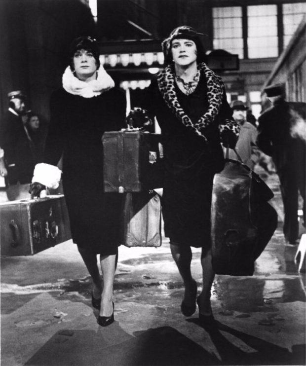 some like it hot luggage