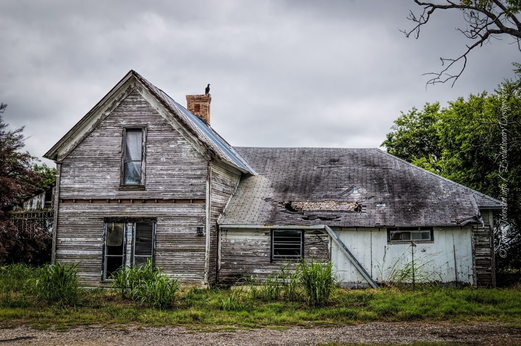 Abandoned Farm House In Rockwall Texas James Johnston