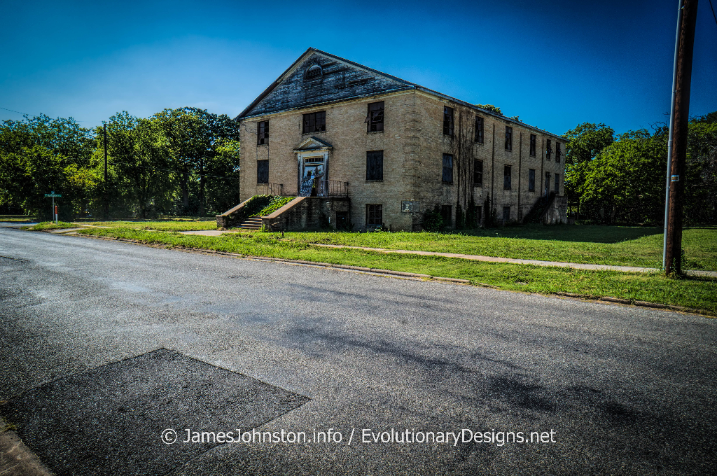 Abandoned Church in Sherman, Texas (Demolished)