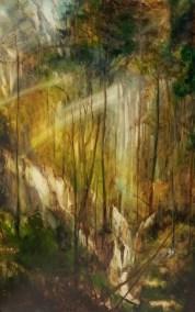 Teton Woods, Oil, 80x120cm