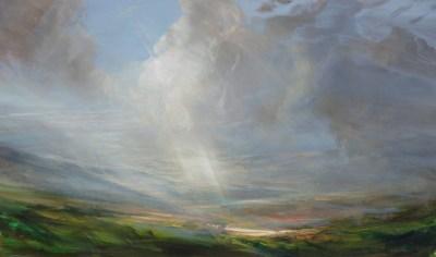 North, Oil Painting, 120x70cm