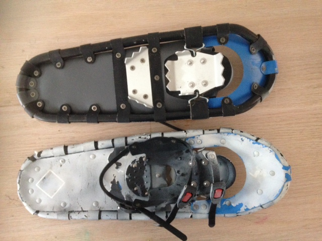 No Strings attached, Modern Snow Shoes.