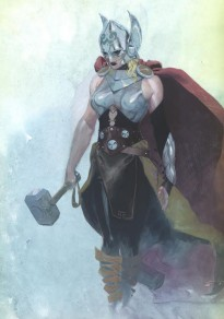Marvel have given Mjolnir to a new, female Thor.