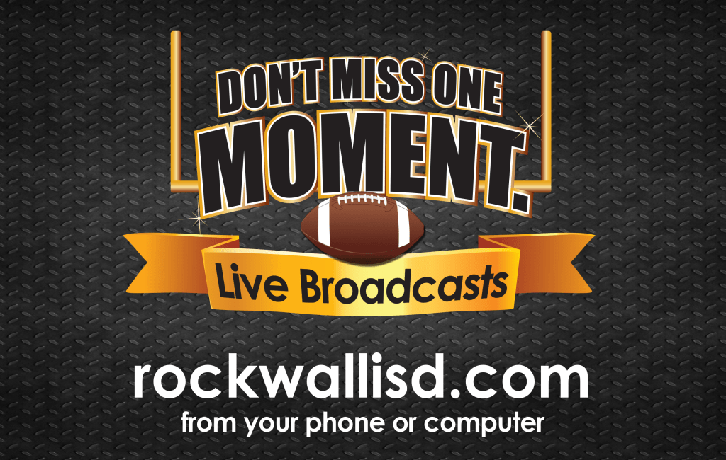 Rockwall ISD Athletics Broadcasts