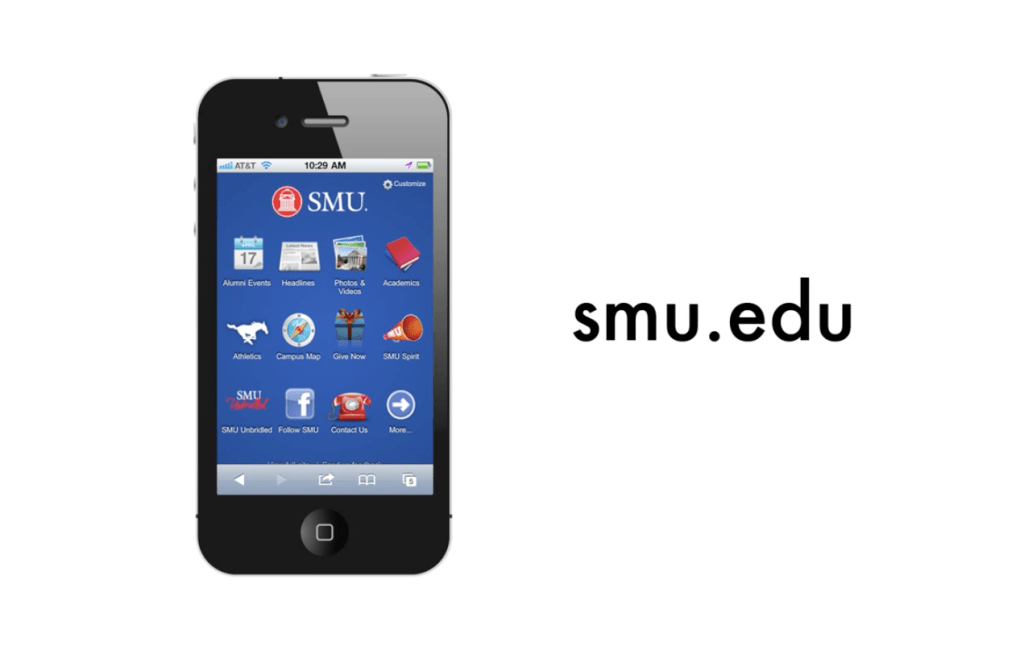 SMU Mobile Website Promo Ad
