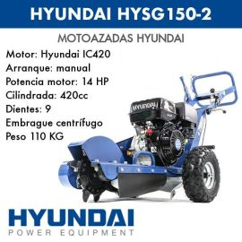 TOCONADORA  HYUNDAI HYSG150-2
